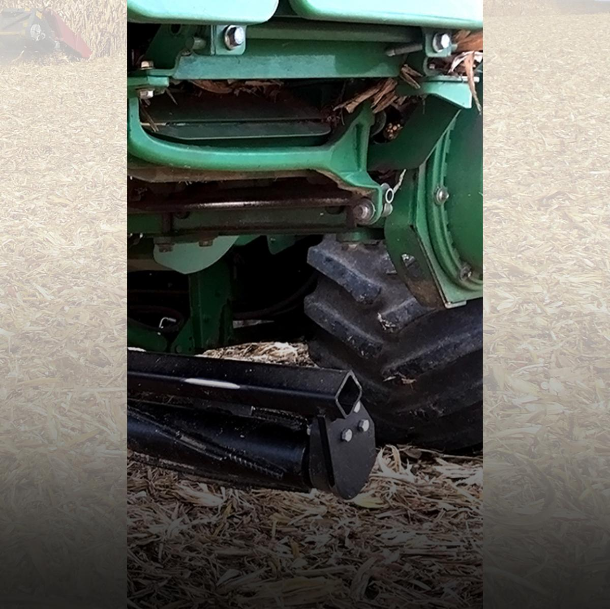 Not only does the Devastator crimp and crush stalks, it also saves major wear and tear on tires.