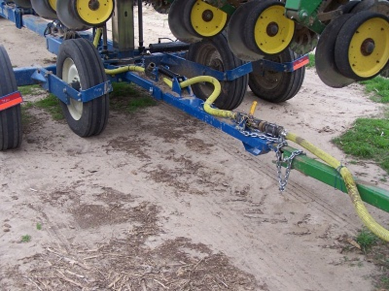 Easily run hose through your All Steer