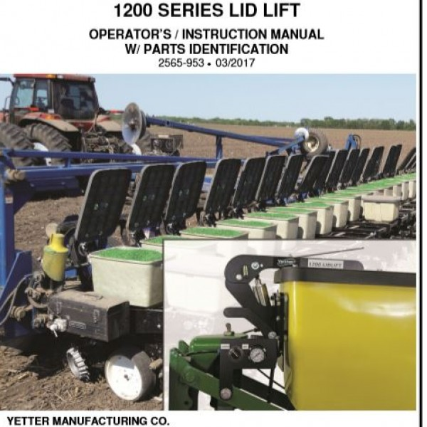 1200 Lid Lift Manual
