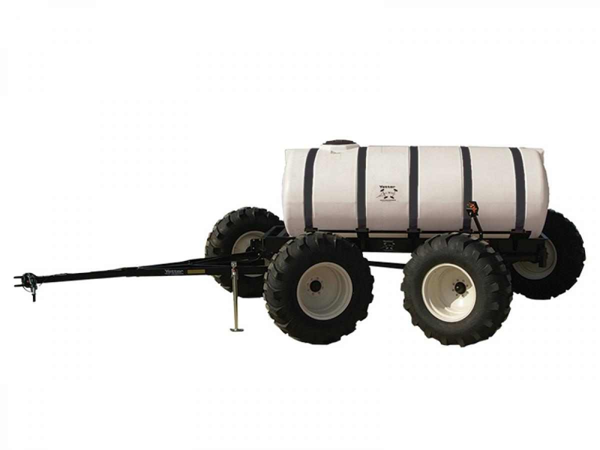 The All Steer Cart can be used for fertilizer or herbicide as you plant, side-dress, strip-till, or cultivate.