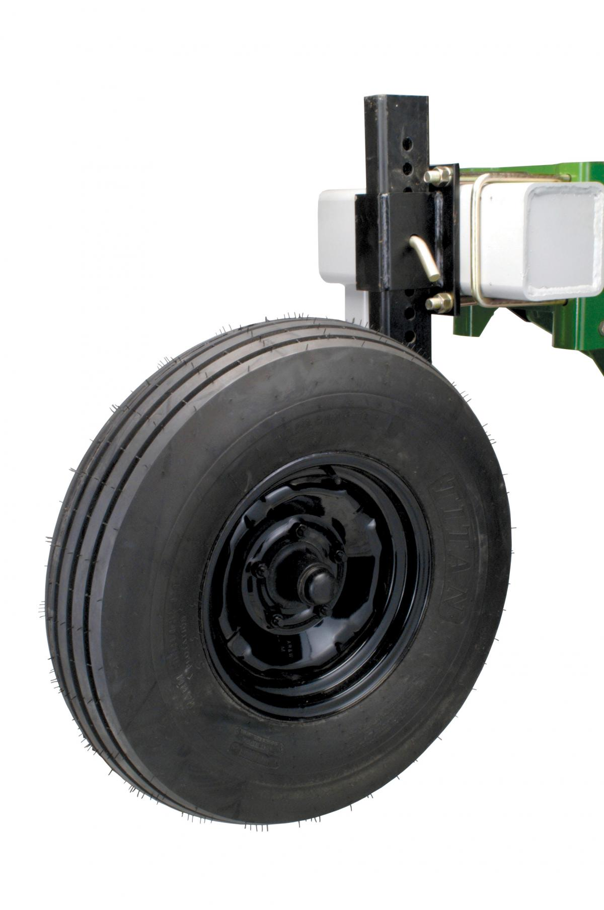 The wheels for the conventional rotary hoes