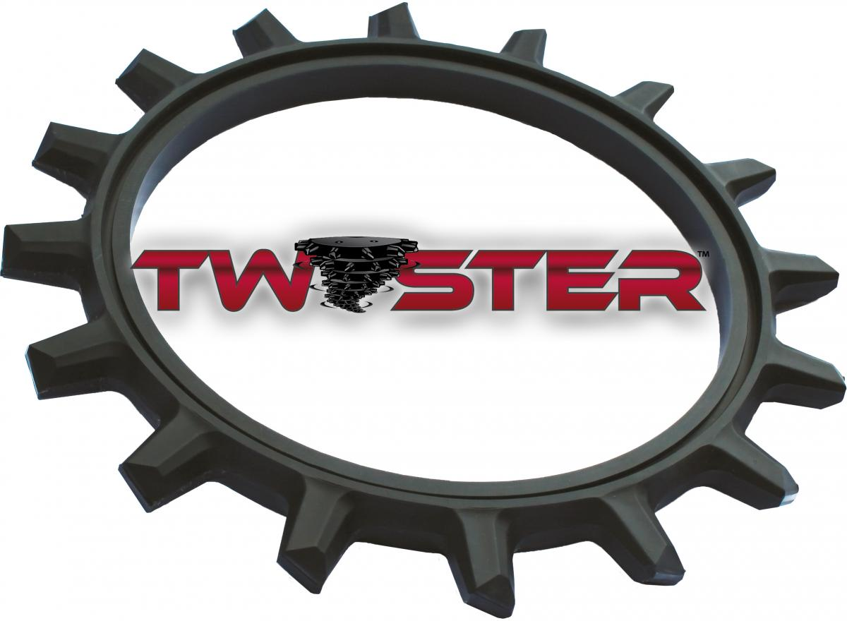The twister closing wheel